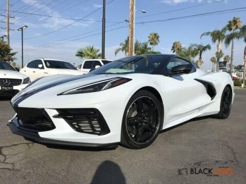 2020 Chevrolet Corvette for sale at BLACK LABEL AUTO FIRM in Riverside CA