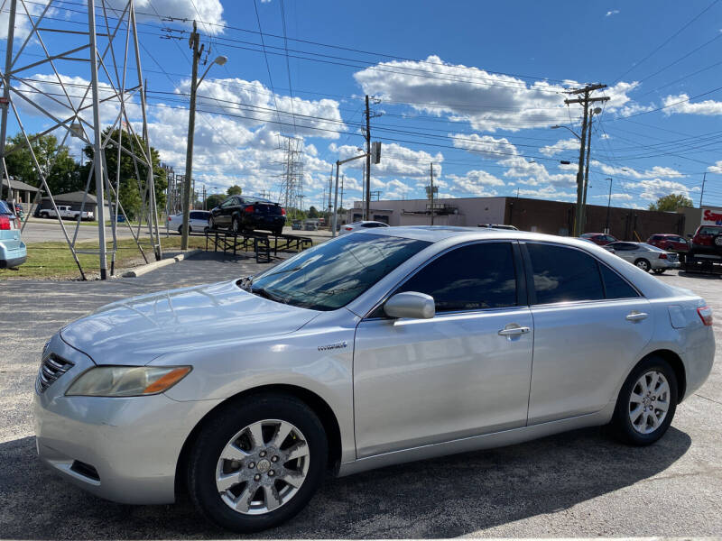 2007 Toyota Camry Hybrid for sale at Augusta Motors Inc in Indianapolis IN