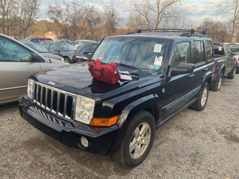 2008 Jeep Commander for sale at Trocci's Auto Sales in West Pittsburg PA