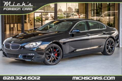 2013 BMW 6 Series for sale at Mich's Foreign Cars in Hickory NC