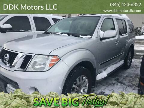 2010 Nissan Pathfinder for sale at DDK Motors LLC in Rock Hill NY