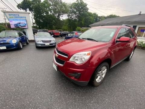2013 Chevrolet Equinox for sale at Sports & Imports in Pasadena MD