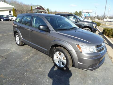 2013 Dodge Journey for sale at Kurt Bonners Whitehall Motor Sales in Whitehall MI