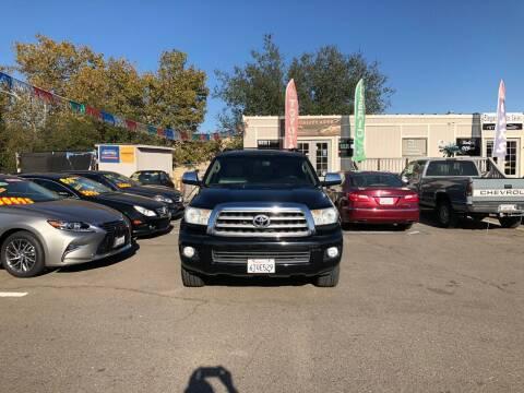 2008 Toyota Sequoia for sale at TOP QUALITY AUTO in Rancho Cordova CA