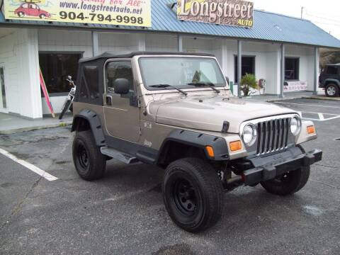 2006 Jeep Wrangler for sale at LONGSTREET AUTO in St Augustine FL