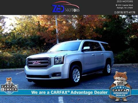 2016 GMC Yukon XL for sale at Zed Motors in Raleigh NC