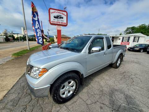2010 Nissan Frontier for sale at Ford's Auto Sales in Kingsport TN