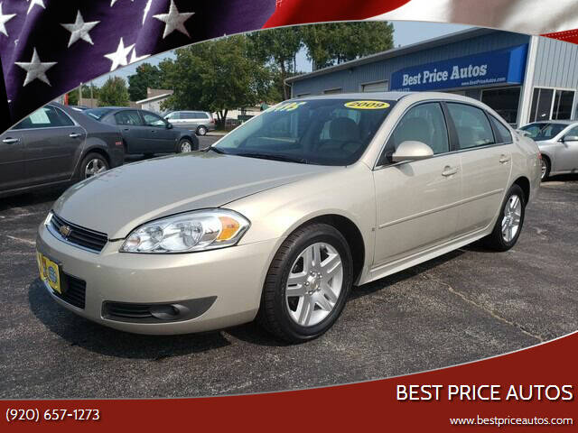 2009 Chevrolet Impala for sale at Best Price Autos in Two Rivers WI