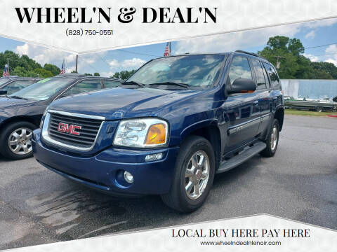 2002 GMC Envoy for sale at Wheel'n & Deal'n in Lenoir NC