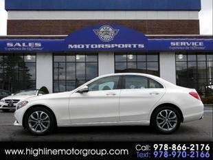 2016 Mercedes-Benz C-Class for sale at Highline Group Motorsports in Lowell MA