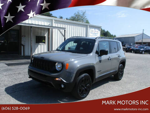 2019 Jeep Renegade for sale at Mark Motors Inc in Gray KY