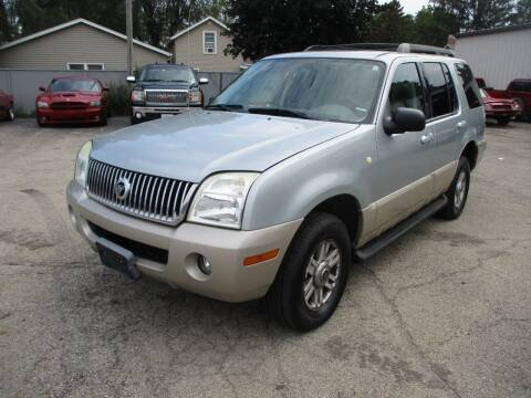 2005 Mercury Mountaineer for sale at RJ Motors in Plano IL