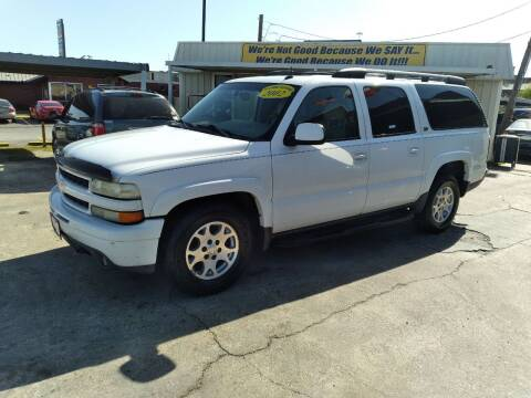 2002 Chevrolet Suburban for sale at Taylor Trading Co in Beaumont TX