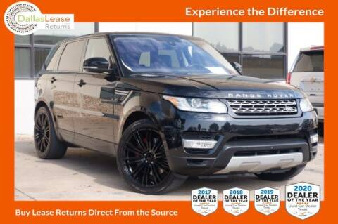 2016 Land Rover Range Rover Sport for sale at Dallas Auto Finance in Dallas TX