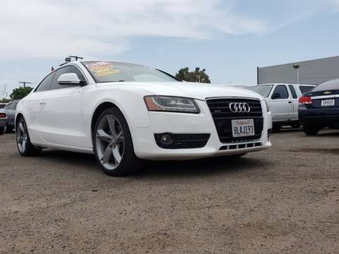 2009 Audi A5 for sale at LR AUTO INC in Santa Ana CA