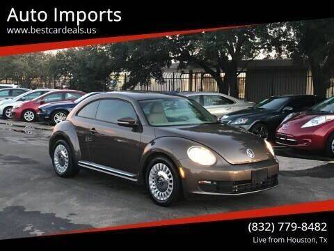 2015 Volkswagen Beetle for sale at Auto Imports in Houston TX