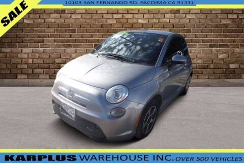 2016 FIAT 500e for sale at Karplus Warehouse in Pacoima CA