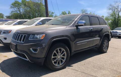 2015 Jeep Grand Cherokee for sale at Top Line Import of Methuen in Methuen MA