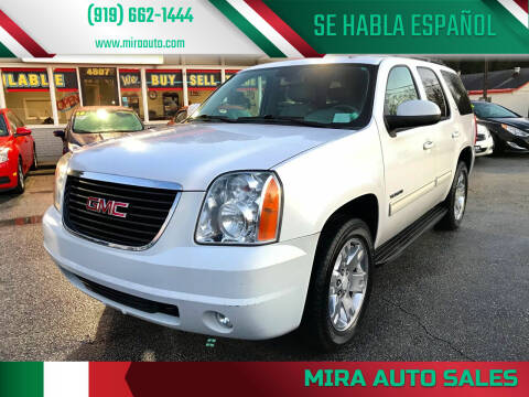 2010 GMC Yukon for sale at Mira Auto Sales in Raleigh NC
