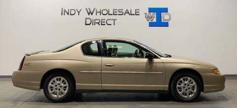 2004 Chevrolet Monte Carlo for sale at Indy Wholesale Direct in Carmel IN