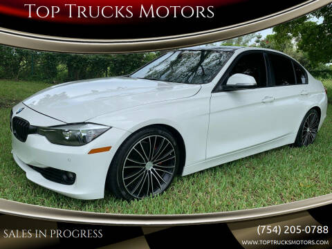 2014 BMW 3 Series for sale at Top Trucks Motors in Pompano Beach FL