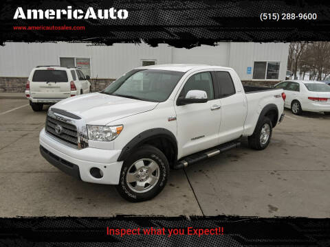 2007 Toyota Tundra for sale at AmericAuto in Des Moines IA