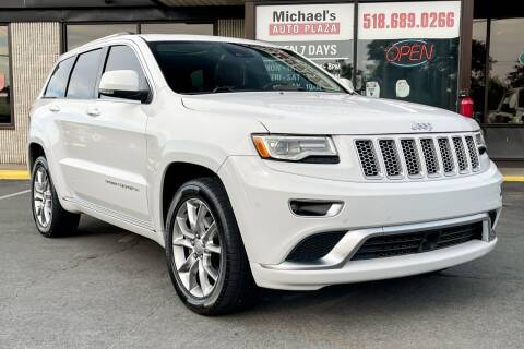 2016 Jeep Grand Cherokee for sale at Michaels Auto Plaza in East Greenbush NY