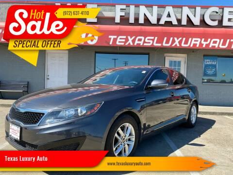 2011 Kia Optima for sale at Texas Luxury Auto in Cedar Hill TX