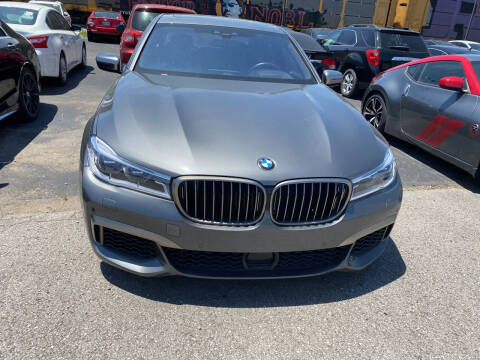 2019 BMW 7 Series for sale at Tennessee Auto Brokers LLC in Murfreesboro TN