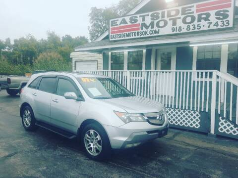 2007 Acura MDX for sale at EASTSIDE MOTORS in Tulsa OK