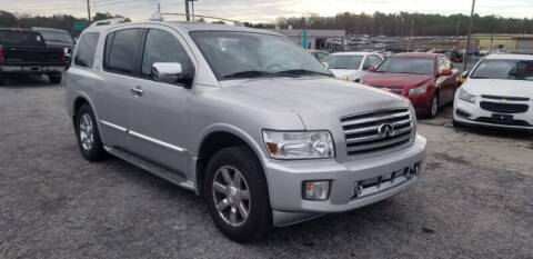 2006 Infiniti QX56 for sale at DREWS AUTO SALES INTERNATIONAL BROKERAGE in Atlanta GA