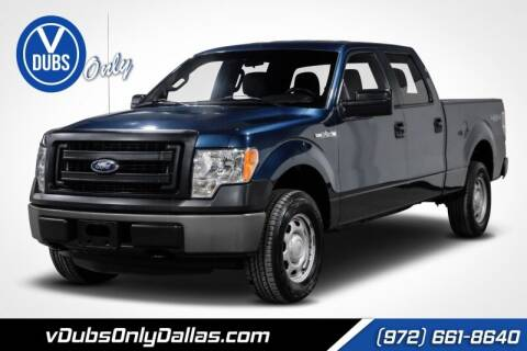 2014 Ford F-150 for sale at VDUBS ONLY in Dallas TX