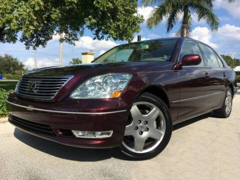 2006 Lexus LS 430 for sale at DS Motors in Boca Raton FL