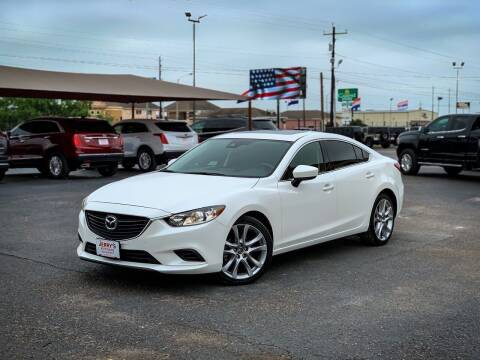 2017 Mazda MAZDA6 for sale at Jerrys Auto Sales in San Benito TX