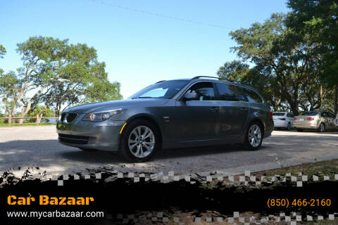 2009 BMW 5 Series for sale at Car Bazaar in Pensacola FL