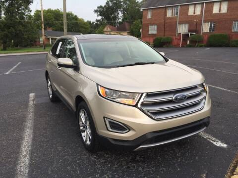 2018 Ford Edge for sale at DEALS ON WHEELS in Moulton AL