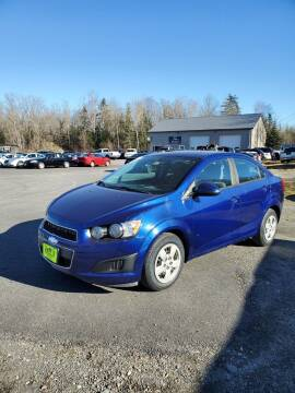 2014 Chevrolet Sonic for sale at Jeff's Sales & Service in Presque Isle ME