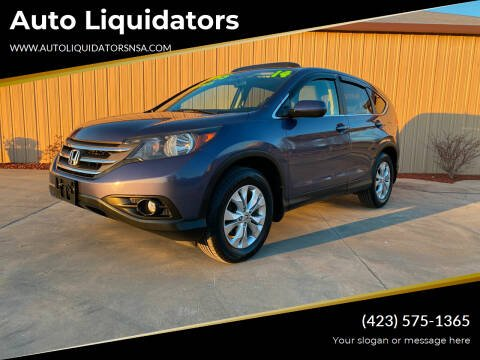 2014 Honda CR-V for sale at Auto Liquidators in Bluff City TN