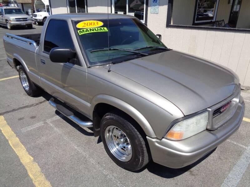 2003 GMC Sonoma for sale at BBL Auto Sales in Yakima WA