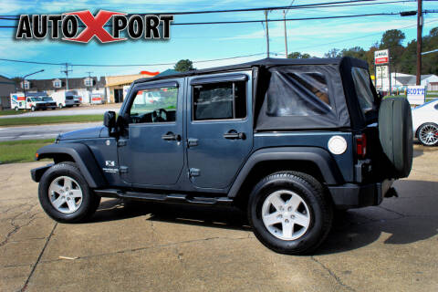 2007 Jeep Wrangler Unlimited for sale at Autoxport in Newport News VA