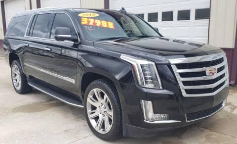 2015 Cadillac Escalade ESV for sale at COOPER AUTO SALES in Oneida TN