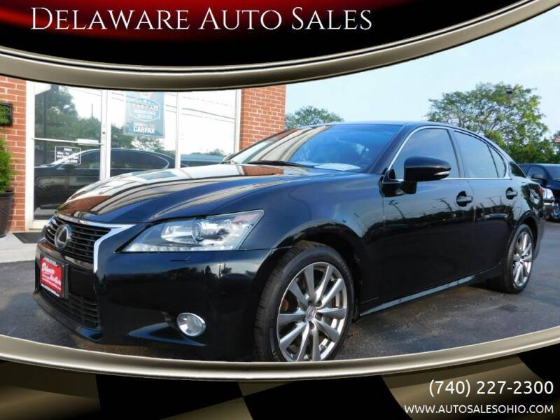 2014 Lexus GS 350 for sale at Delaware Auto Sales in Delaware OH