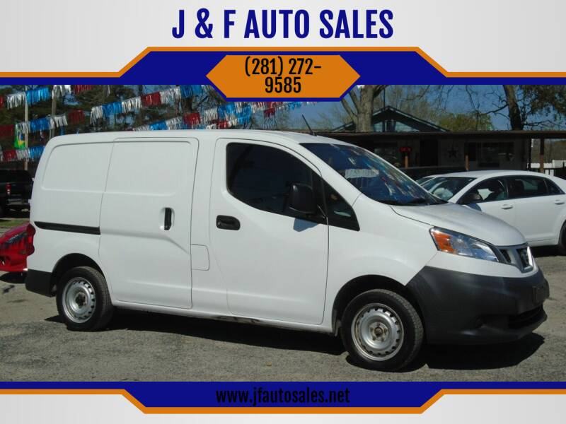 2015 Nissan NV200 for sale at J & F AUTO SALES in Houston TX