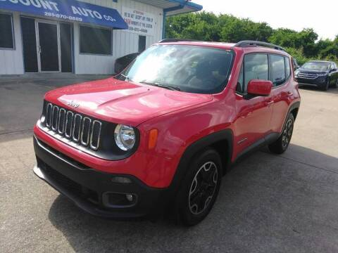 2016 Jeep Renegade for sale at Discount Auto Company in Houston TX