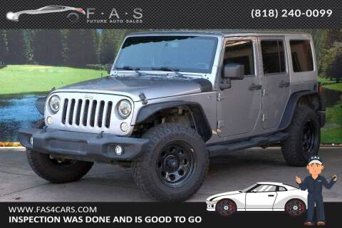 2013 Jeep Wrangler Unlimited for sale at Best Car Buy in Glendale CA
