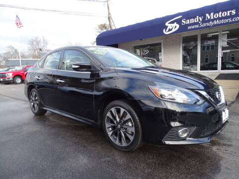2019 Nissan Sentra for sale at Sandy Motors Inc in Coventry RI
