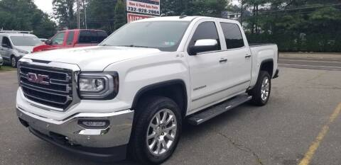 2018 GMC Sierra 1500 for sale at Central Jersey Auto Trading in Jackson NJ