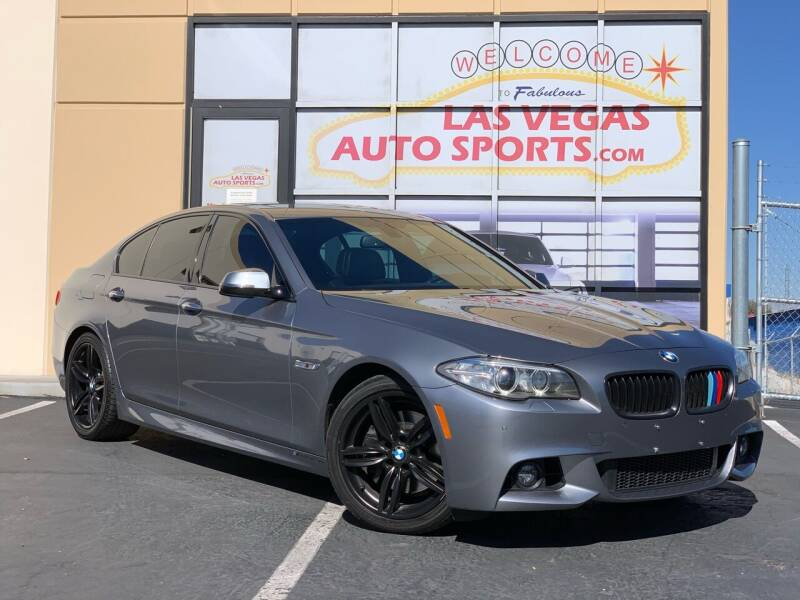 2014 BMW 5 Series for sale at Las Vegas Auto Sports in Las Vegas NV