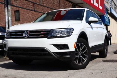 2020 Volkswagen Tiguan for sale at HILLSIDE AUTO MALL INC in Jamaica NY