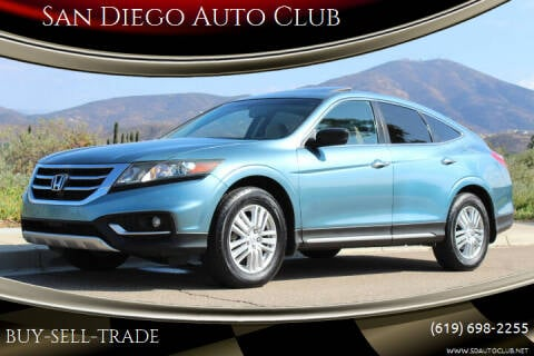 2013 Honda Crosstour for sale at San Diego Auto Club in Spring Valley CA
